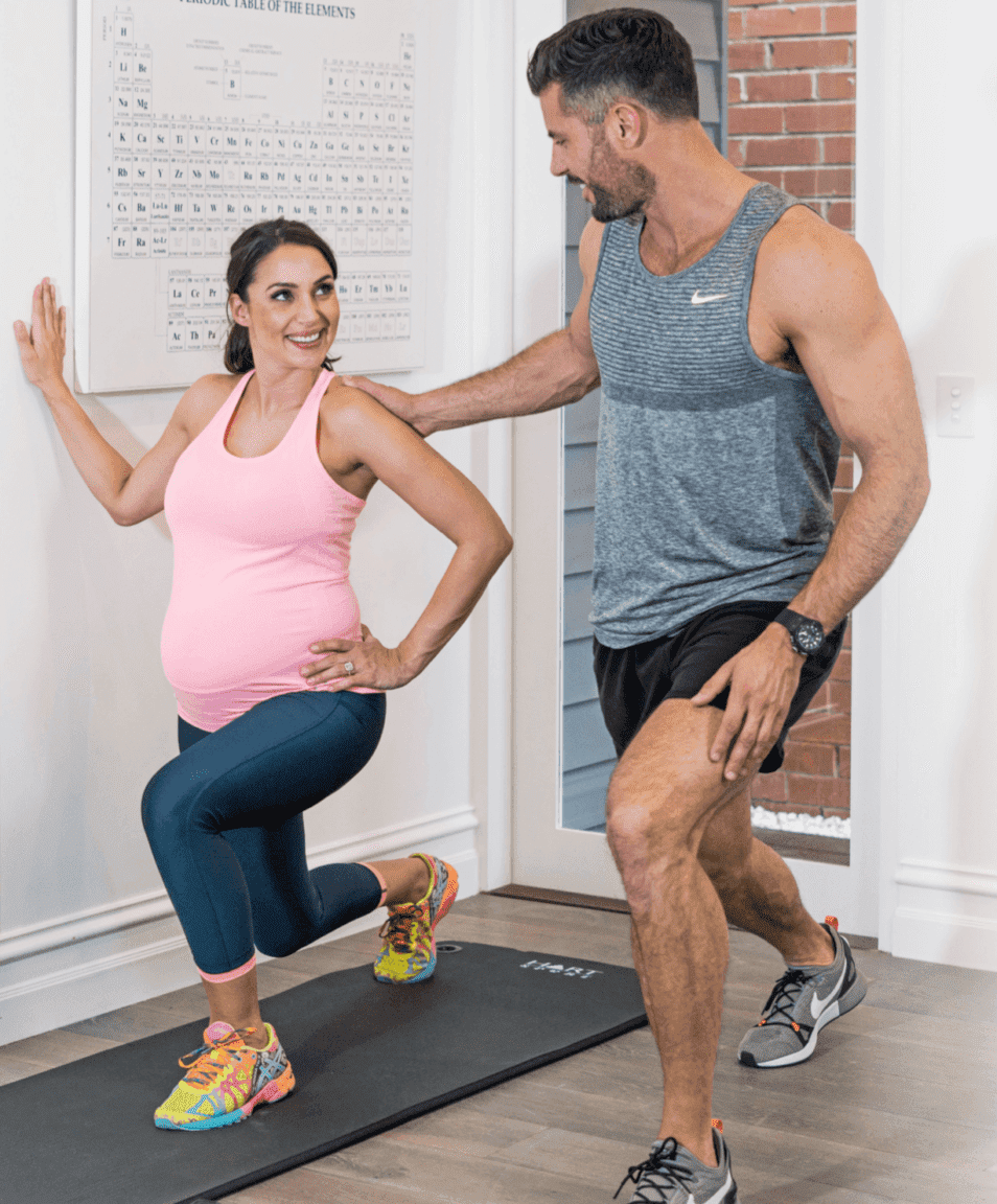 pregnancy fitness with sam wood