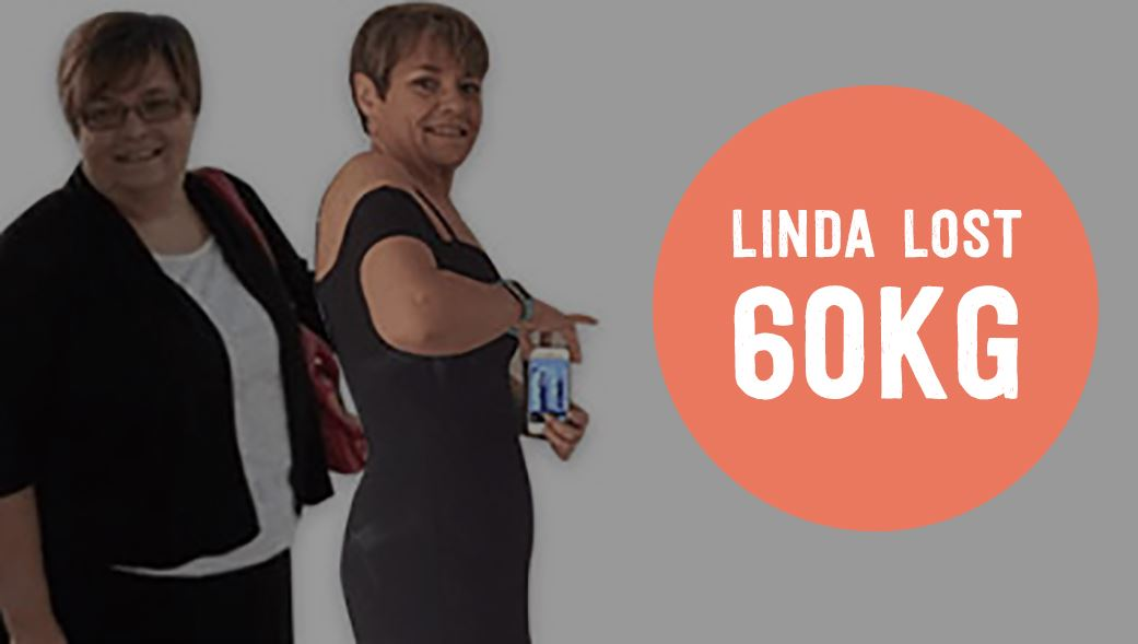 Linda lost 60kg on 28 By Sam Wood