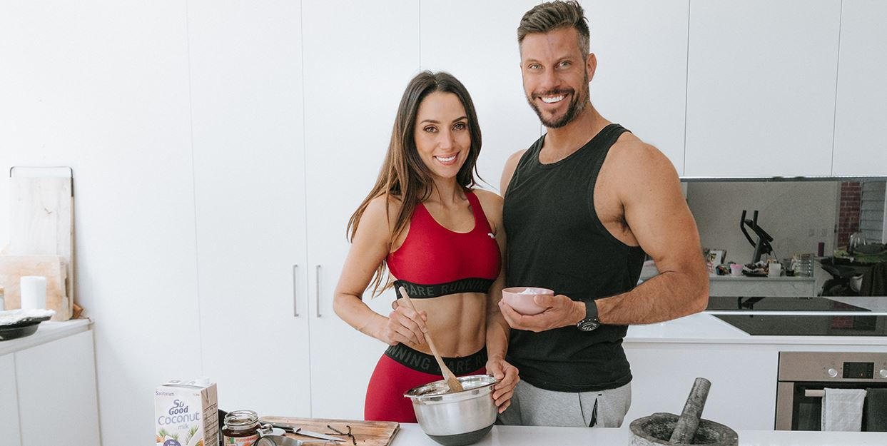 Sam & Snez Wood - kitchen - weight loss