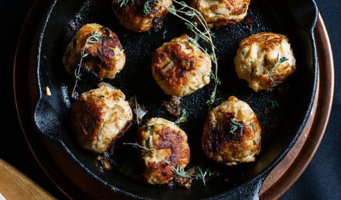 Coconut Curry Meatballs - favourite healthy dinners #10