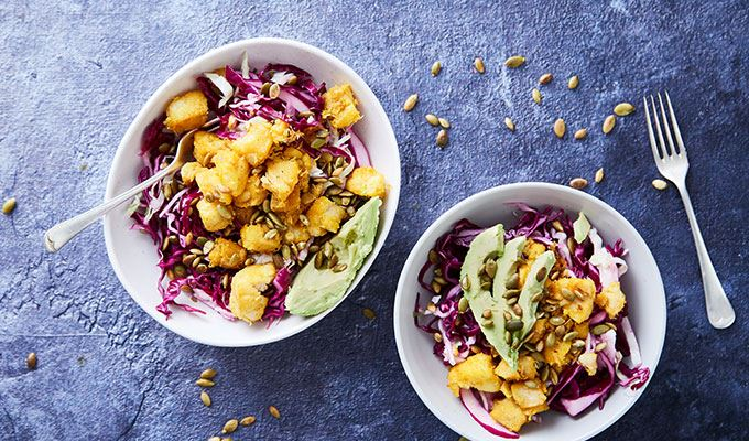 Spicy Fish Taco Bowl - favourite healthy dinners #4