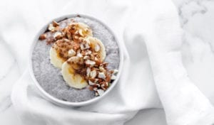 Almond Banana Chia Pudding