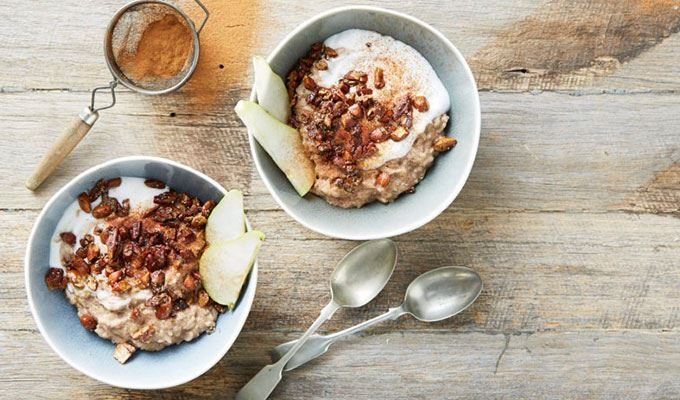 healthy-winter-warming-recipes-06-sticky-spiced-pear-crumble-congee