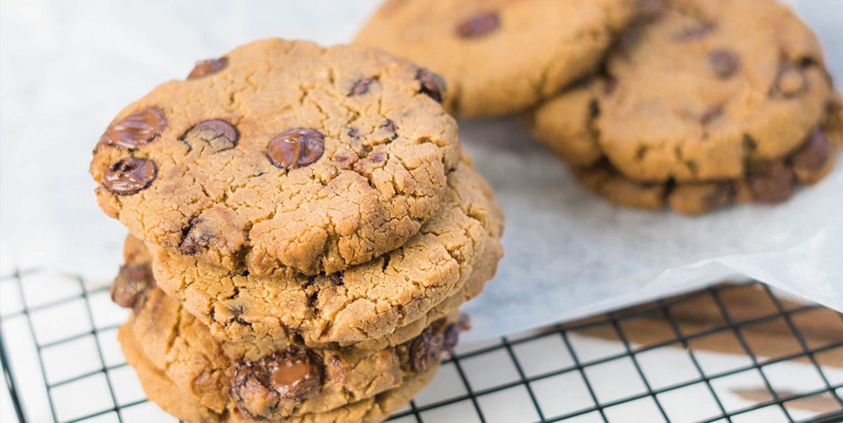 Choc Chickpea Cookies