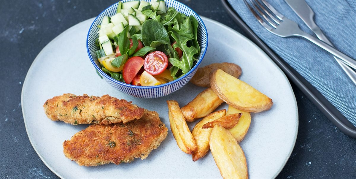Baked Chicken Schnitzel 28 By Sam Wood