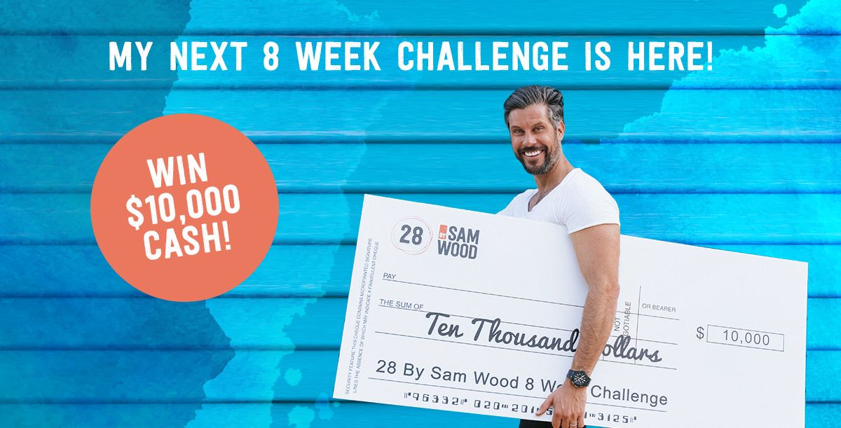 Win 10k in cash with our next 8 week challenge