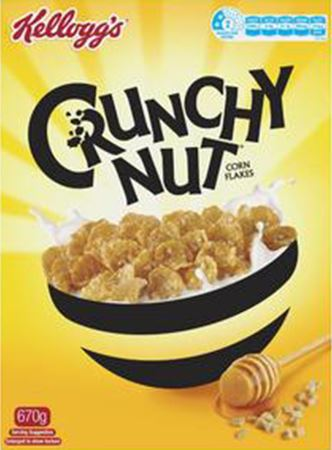 Crunchy Nut Corn Flakes is the 3rd most unhealthiest cereal in Australian Supermarkets 2019