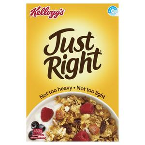 Just Right does not pass our healthy cereal test. Avoid.