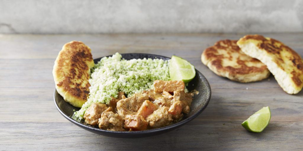 quick meal prep ideas - chicken curry