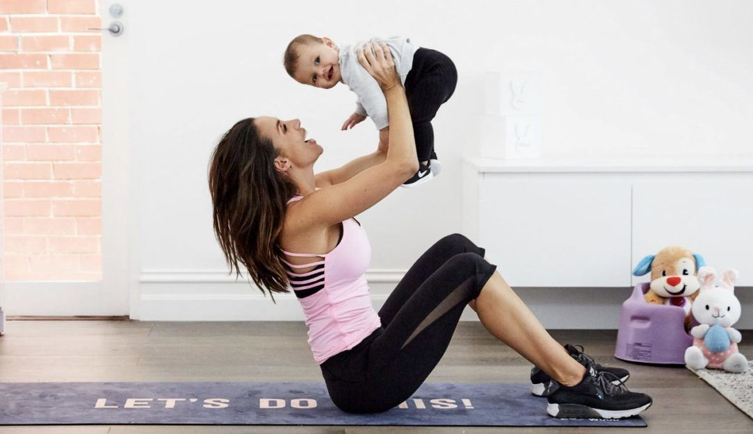 how to workout at home with your baby