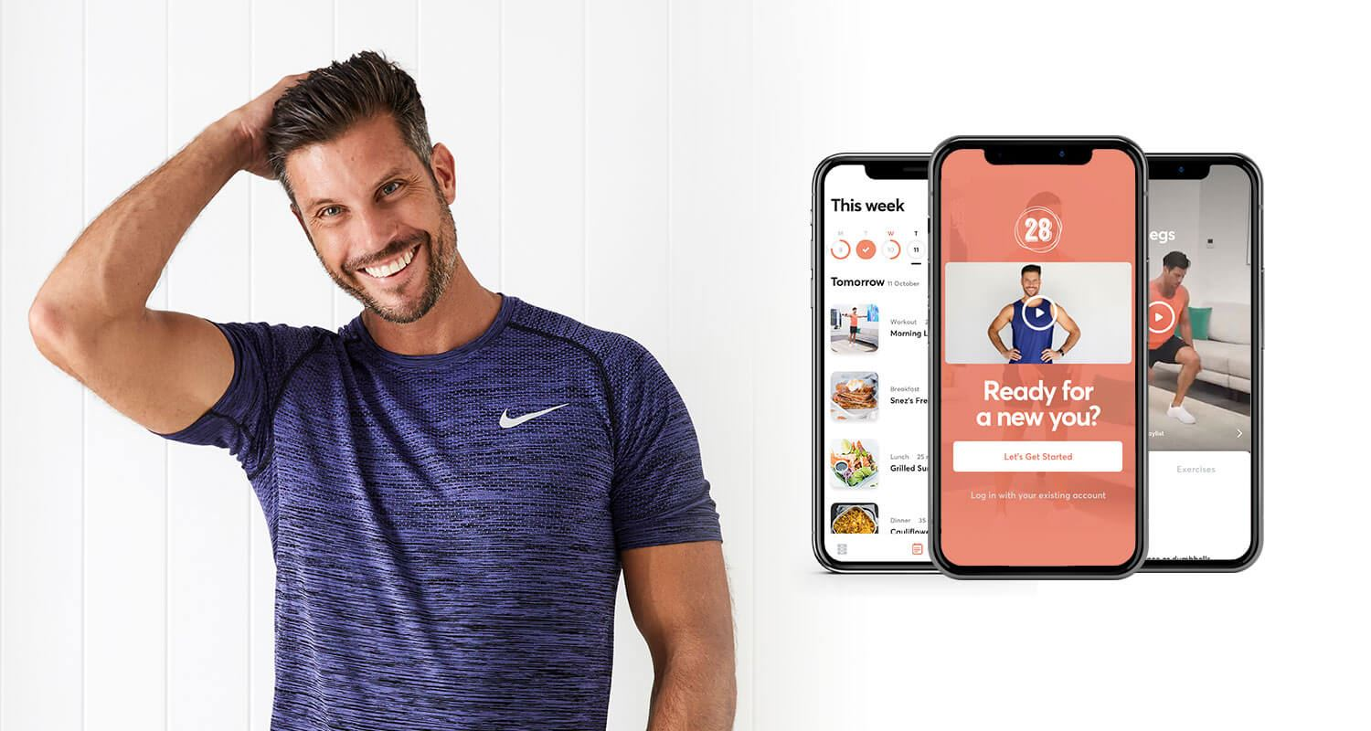Australia's #1 home fitness & nutrition app 28bysamwood