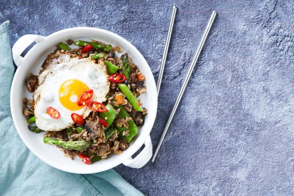 Thai Beef Larb & Fried Egg Recipe