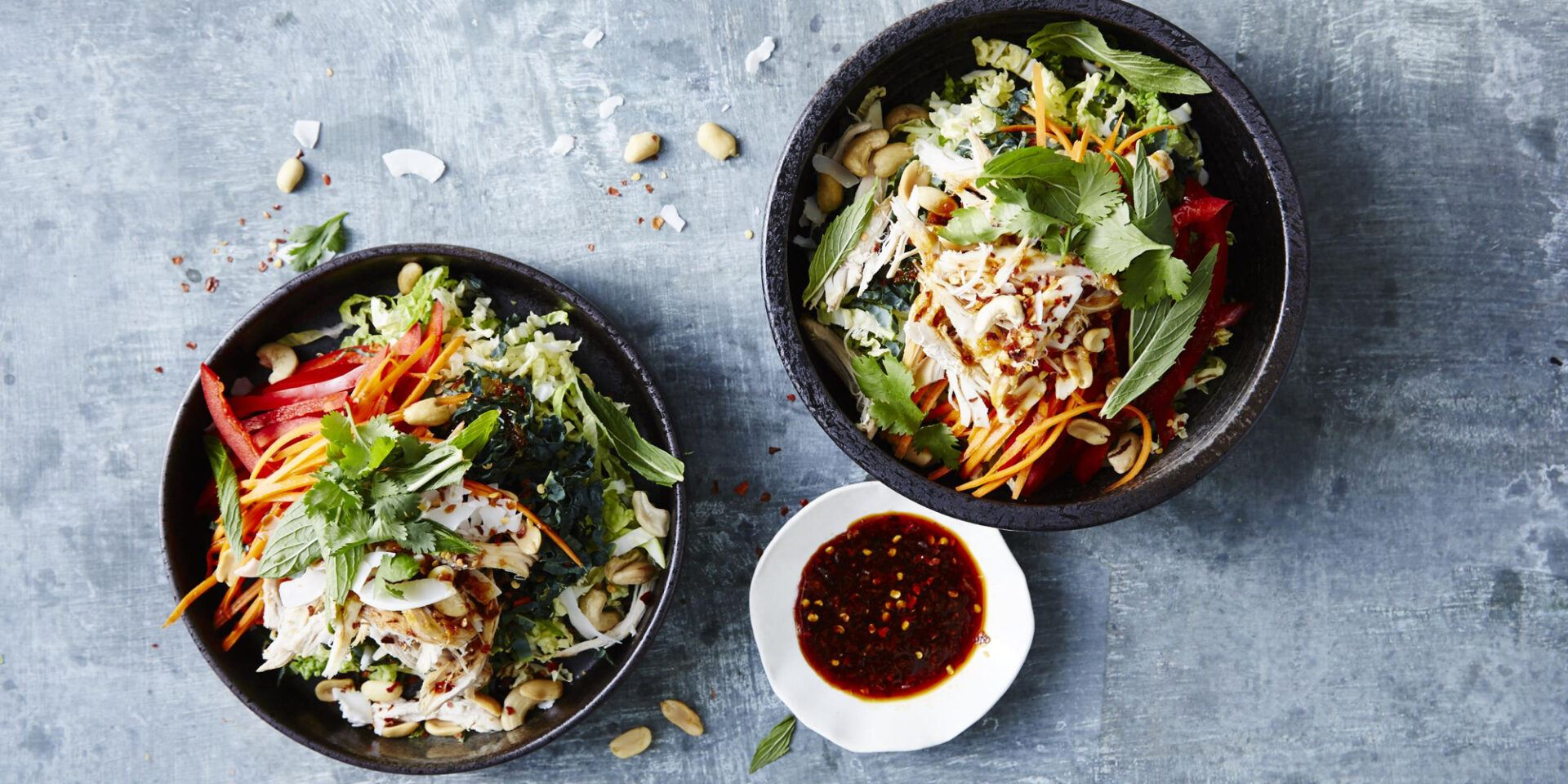 Healthy Thai Chicken Salad Recipe