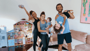 how to keep kids active at home-kid friendly workouts