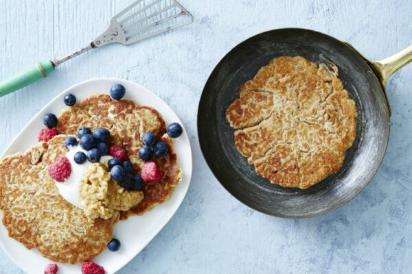 healthy-peanut-butter-protein-pancake-recipe-1024x512high protein healthy peanut butter pancakes