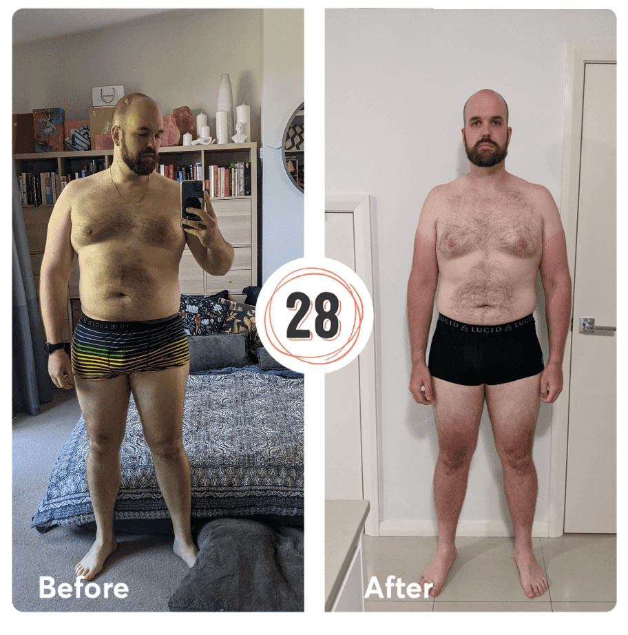 Chris lost 20kgs - Dec 2020 8 week challenge